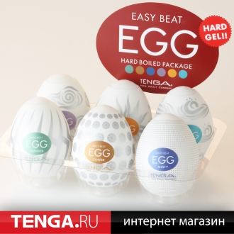 Tenga Egg Variety 2 Hard Boiled Pack (6 in 1) VP-002