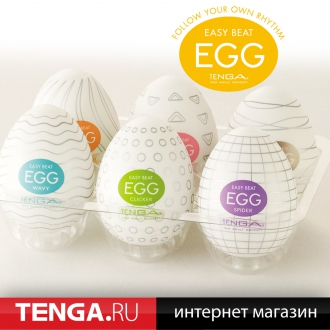 Tenga Egg Variety 1 Pack (6 in 1) VP-001