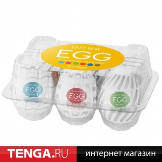 Tenga Egg Variety Pack 3 (6 in 1) VP-003